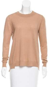Clu Lace-Accented Wool Sweater