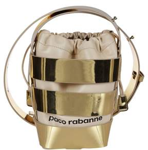 Paco Rabanne Logo Bucket Bag