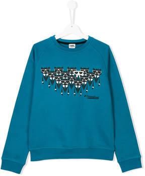 Karl Lagerfeld Teen Choupette print sweatshirt