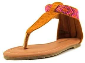 Nanette Lepore 70856 Open Toe Synthetic Thong Sandal.