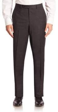 Saks Fifth Avenue COLLECTION Checked Wool Trousers