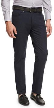 Peter Millar Crown Mountainside Flannel 5-Pocket Pants