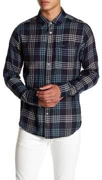 Jeremiah Cypress Indigo Reversible Shirt