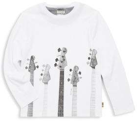 Paul Smith Toddler, Little Boy's & Boy's Guitar Cotton Tee
