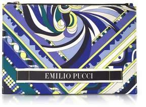 Emilio Pucci Signature Printed Flat Clutch