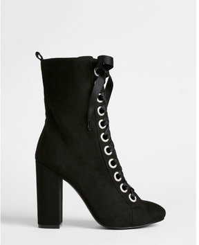 Express lace-up boots