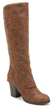 Fergalicious Tootsie Stacked Heel Tall Boot