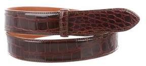 Polo Ralph Lauren Alligator Belt Strap