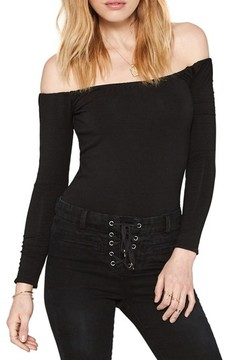 Amuse Society Women's Ever After Off The Shoulder Top