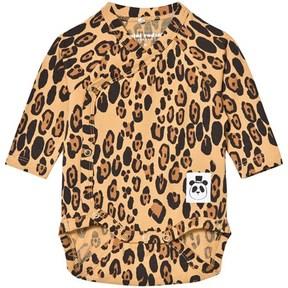 Mini Rodini Leopard Print Wrap Body