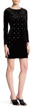 Cynthia Steffe Natasia Embellished Long Sleeve Dress