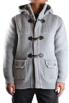 Bark Men's Grey Cotton Sweatshirt.