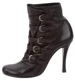 Barbara Bui Buckle Ankle Boots