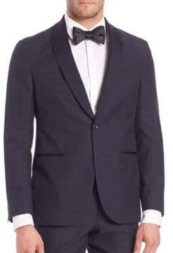 Saks Fifth Avenue MODERN Wool-Blend Tuxedo Jacket