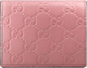 Gucci Signature card case - PINK GUCCI SIGNATURE - STYLE