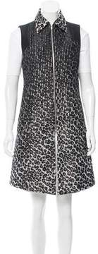 Creatures of the Wind Jutta Leopard Print Vest w/ Tags