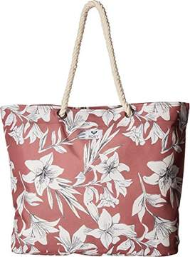 Roxy Tropical Vibe Printed Beach Tote