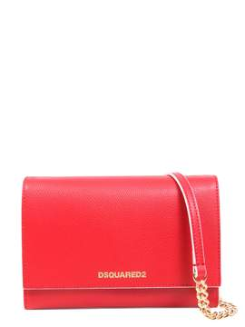 DSQUARED2 Leather Crossbody Bag