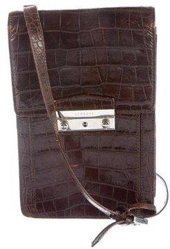 Versace Crocodile Crossbody Bag