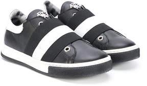 Roberto Cavalli elastic band sneakers