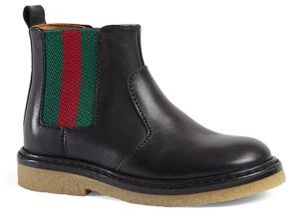 Gucci Baby's & Toddler's Leather Boots