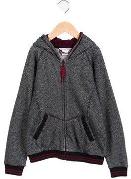 Little Marc Jacobs Boys' Hooded Stripe-Trimmed Sweatshirt