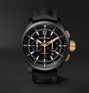 Jaeger-LeCoultre Master Compressor Chronograph 46mm Ceramic And Rose Gold Watch