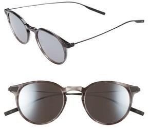 Salt Women's Rick 48Mm Polarized Round Sunglasses - Cold Grey/ Black Sand