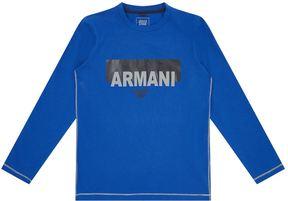 Armani Junior Graphic Print Logo T-Shirt