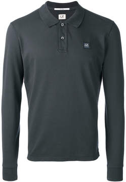 C.P. Company long sleeved polo shirt