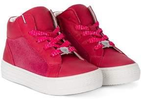 Emporio Armani Kids hi-top sneakers