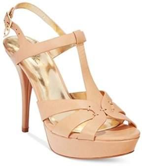 Thalia Sodi Womens Raquell Peep Toe Casual Ankle Strap Sandals.