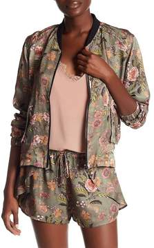 Blank NYC BLANKNYC Sun Chaser Floral Print Jacket