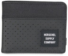 Herschel Men's Roy Aspect Bifold Wallet - Black