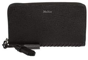 Max Mara Women's Black Leather Wallet.