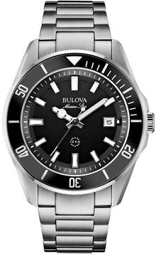 Bulova Men's Marine Star Stainless Steel Bracelet Watch 43mm 98B203