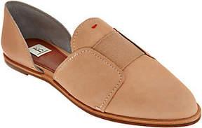 ED Ellen Degeneres As Is Leather Pointed-Toe Flats- Kizi