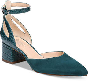 Franco Sarto Caleigh Ankle-Strap Pumps Women's Shoes