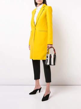 Sara Battaglia Plisse handbag