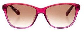 Balmain Logo-Embellished Square Sunglasses