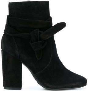 Schutz ankle tie boots