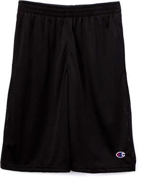 Champion Black Heritage Mesh Shorts - Toddler & Boys