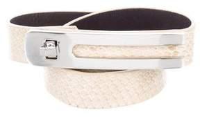Diane von Furstenberg Embossed Waist Belt