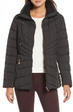 Bernardo Women's Packable Down & Primaloft Coat