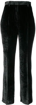 Aalto high rise striped trousers