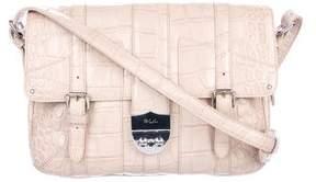 Lauren Ralph Lauren Embossed Leather Crossbody