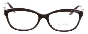 Tiffany & Co. Jewel-Embellished Key Eyeglasses w/ Tags