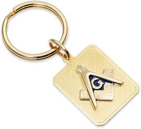 Asstd National Brand Personalized Masonic Emblem Key Ring