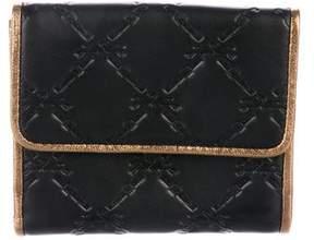 Longchamp Leather Compact Wallet