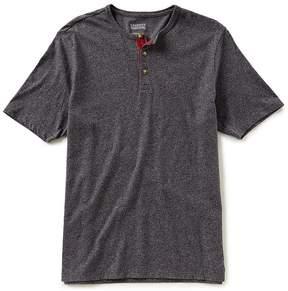 Daniel Cremieux Jeans Solid Short-Sleeve Henley